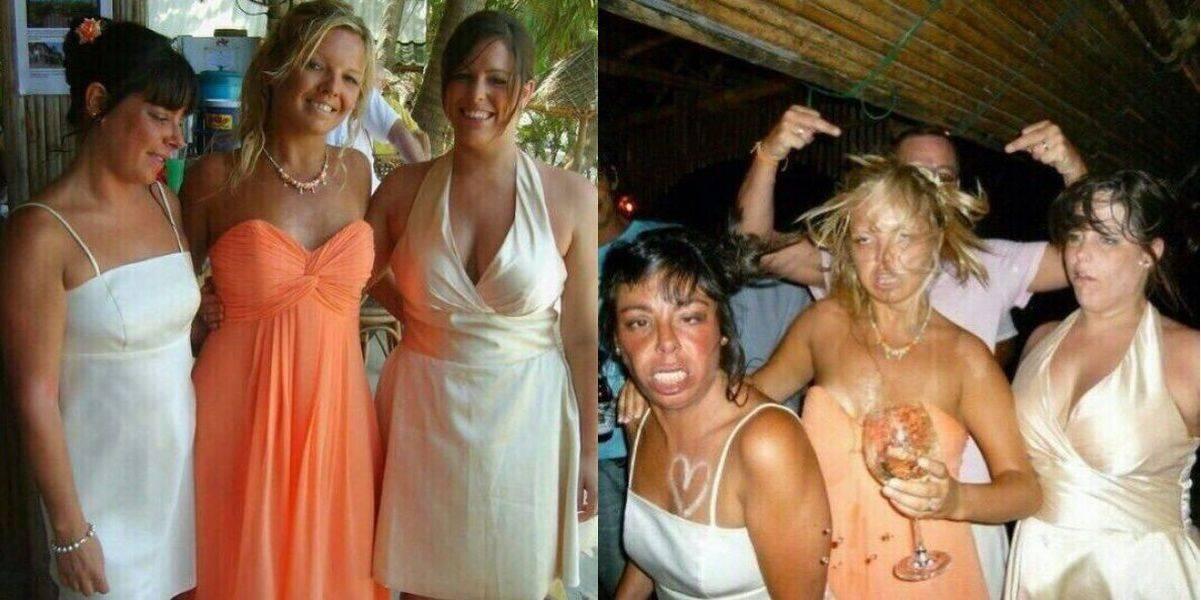 До и после - фотографии, которые удивят вас (56 фото)