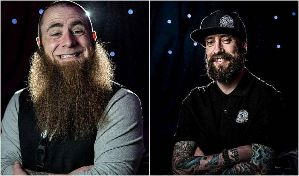 Конкурс бородачей и усачей в Великобритании (20 фото)