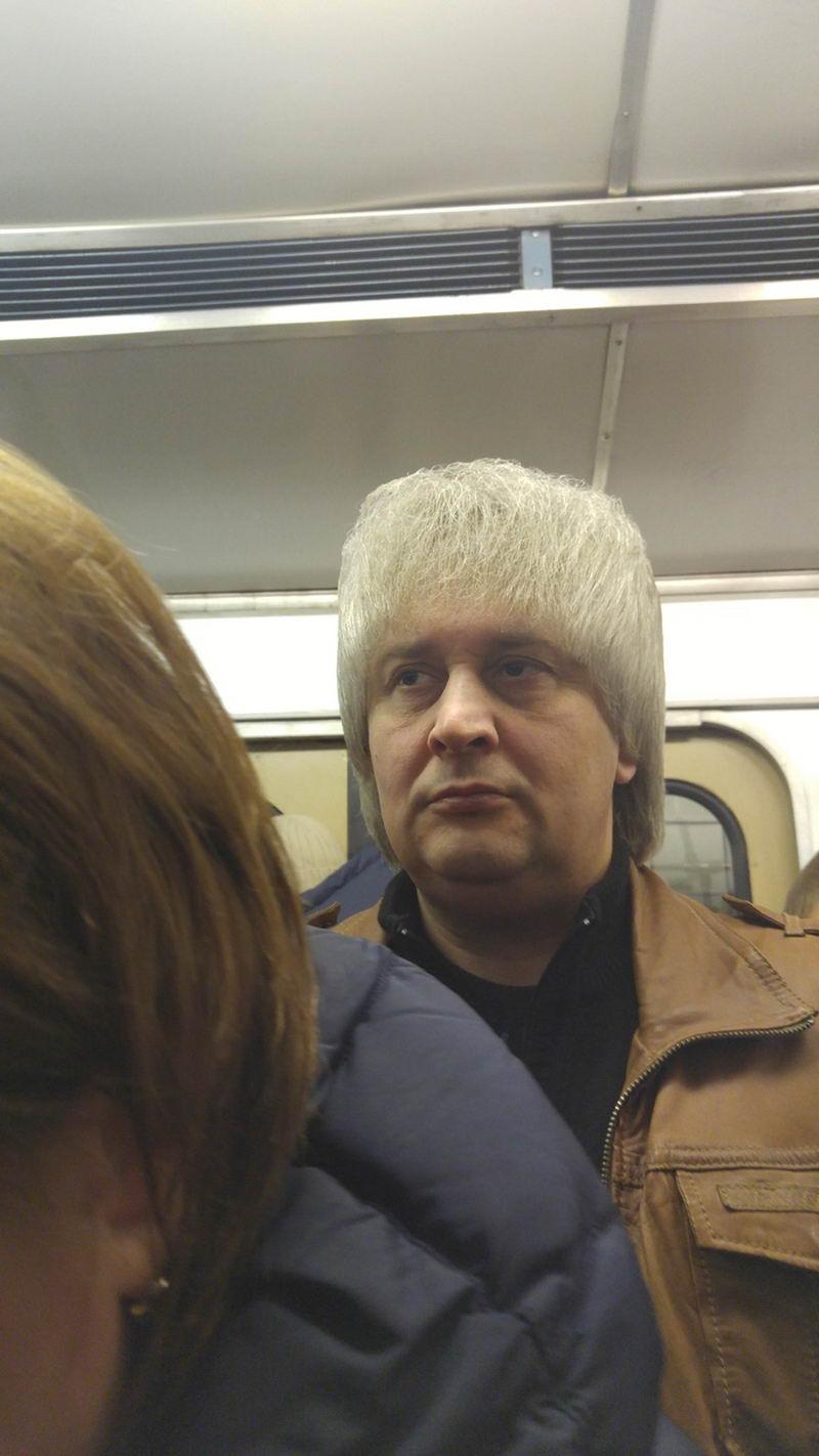 Фэшн из российского метро - 43 (40 фото)