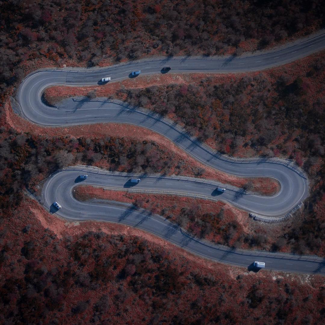 Зхватывающие аэрофотоснимки Мэтта Придла (25 фото)