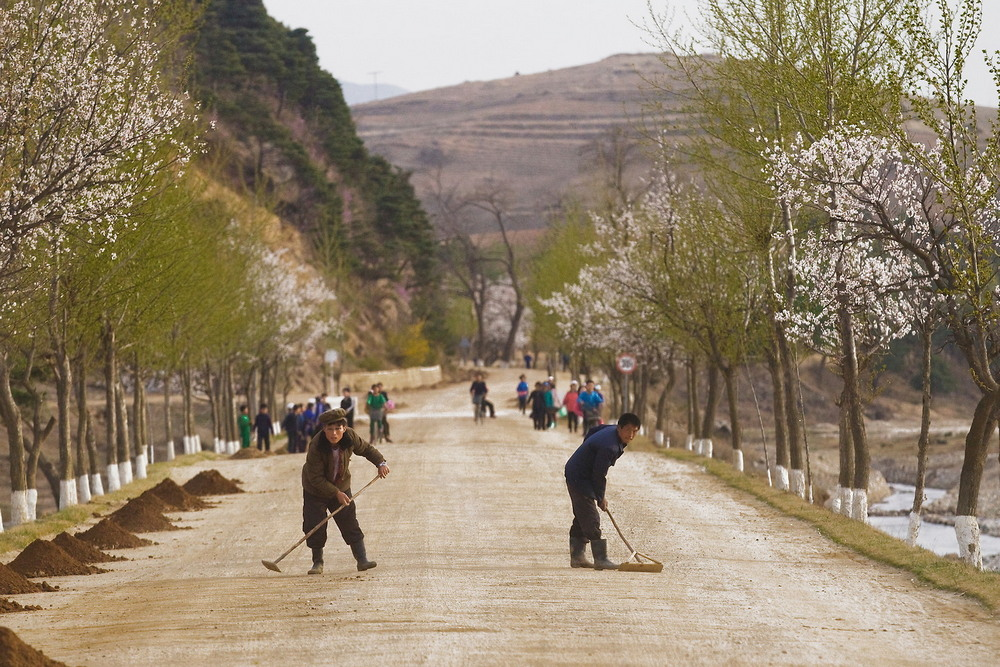 Северная Корея на снимках Карима Сахай (30 фото)