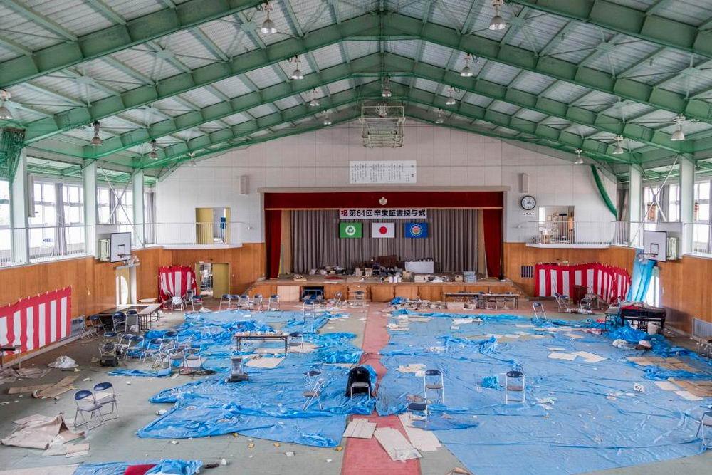 Пустующие улицы Фукусимы спустя семь лет после ядерной катастрофы (20 фото)