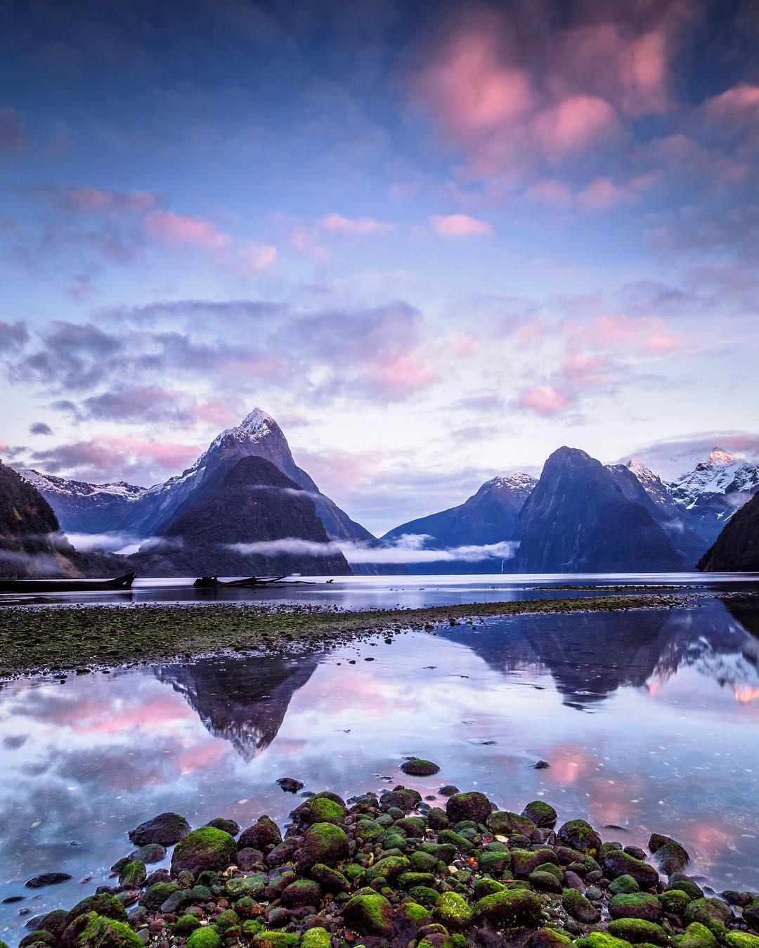 Шикарные пейзажи Новой Зеландии от Лори Винтер (25 фото)