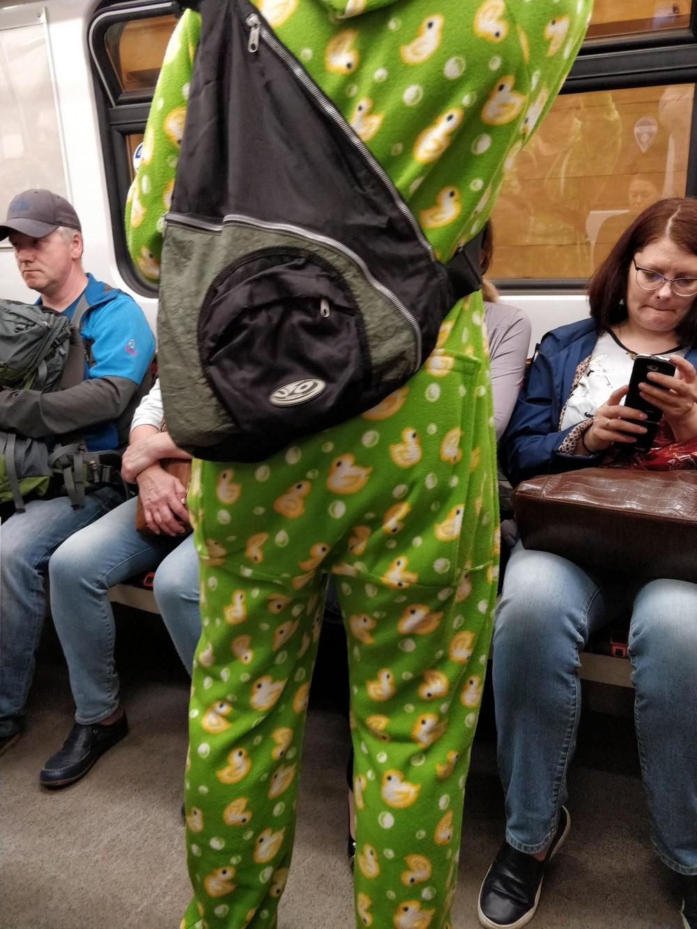 Фэшн из российского метро - 45 (35 фото)