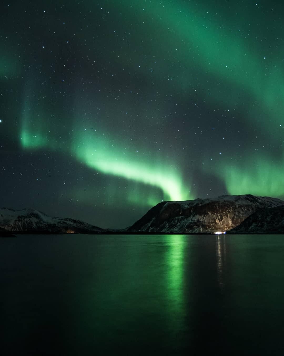 Северное Сияние Норвегии - пейзажи Криса Робина Сивертсена (25 фото)