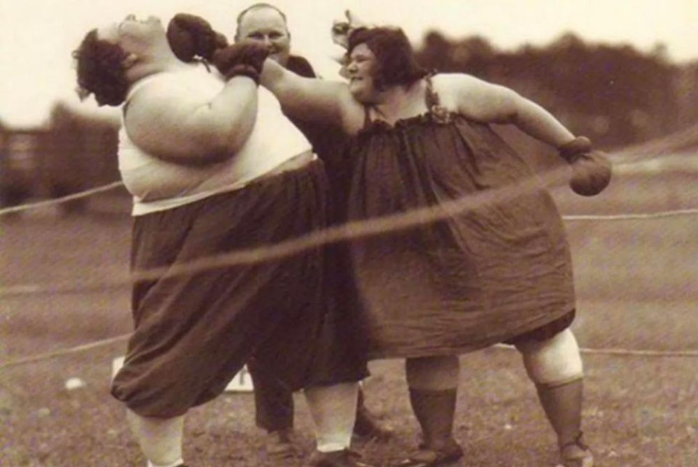 Викторианские женщины боксеры (20 фото)
