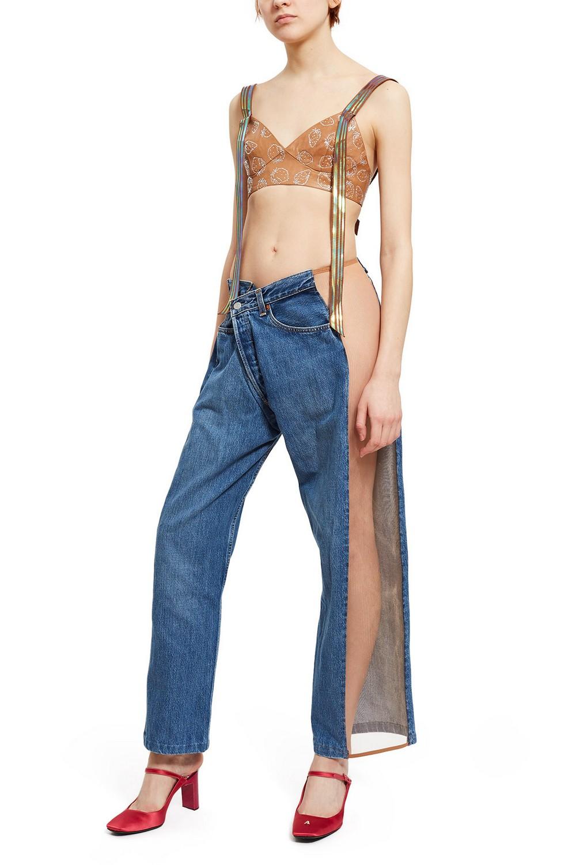 Белья не надевать: новомодные джинсы за 0