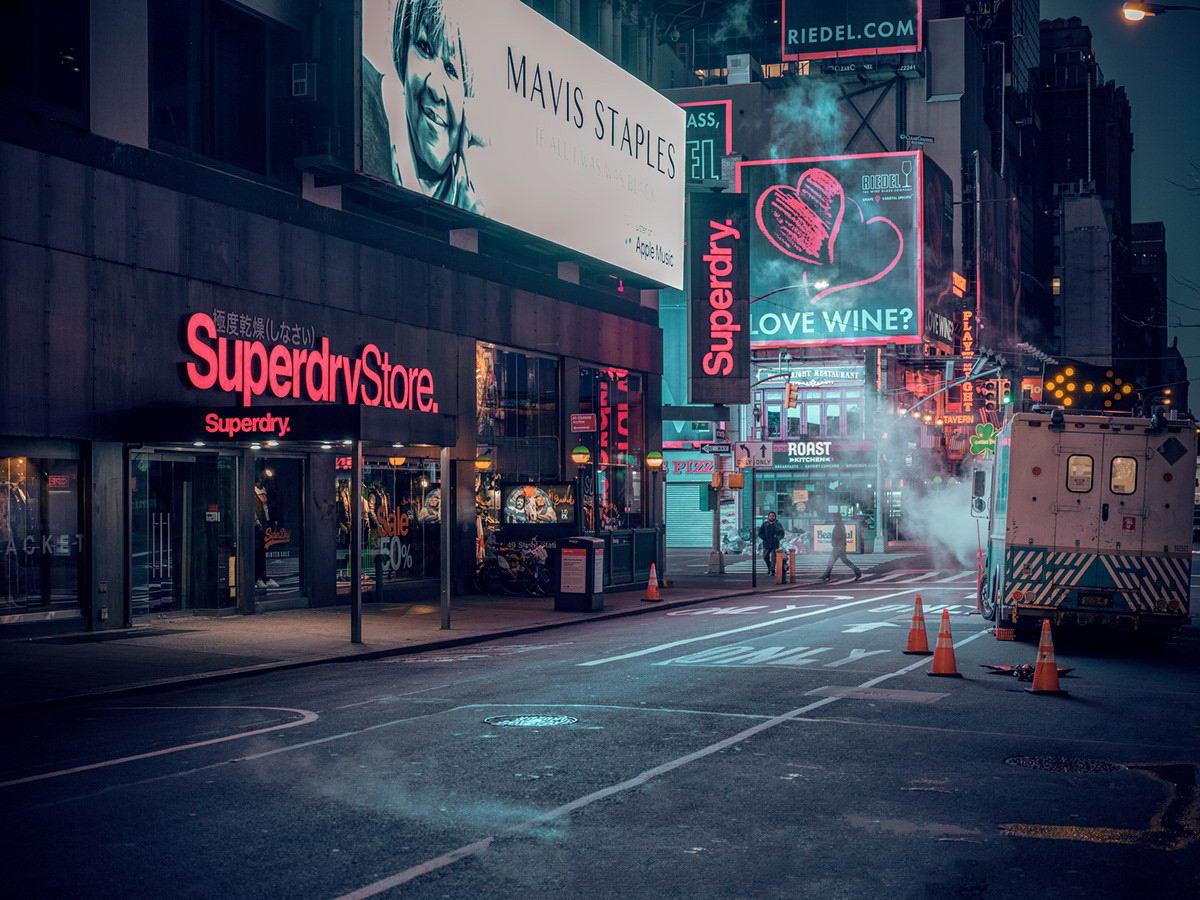 Нью-Йорк на снимках Людвига Фавра (20 фото)