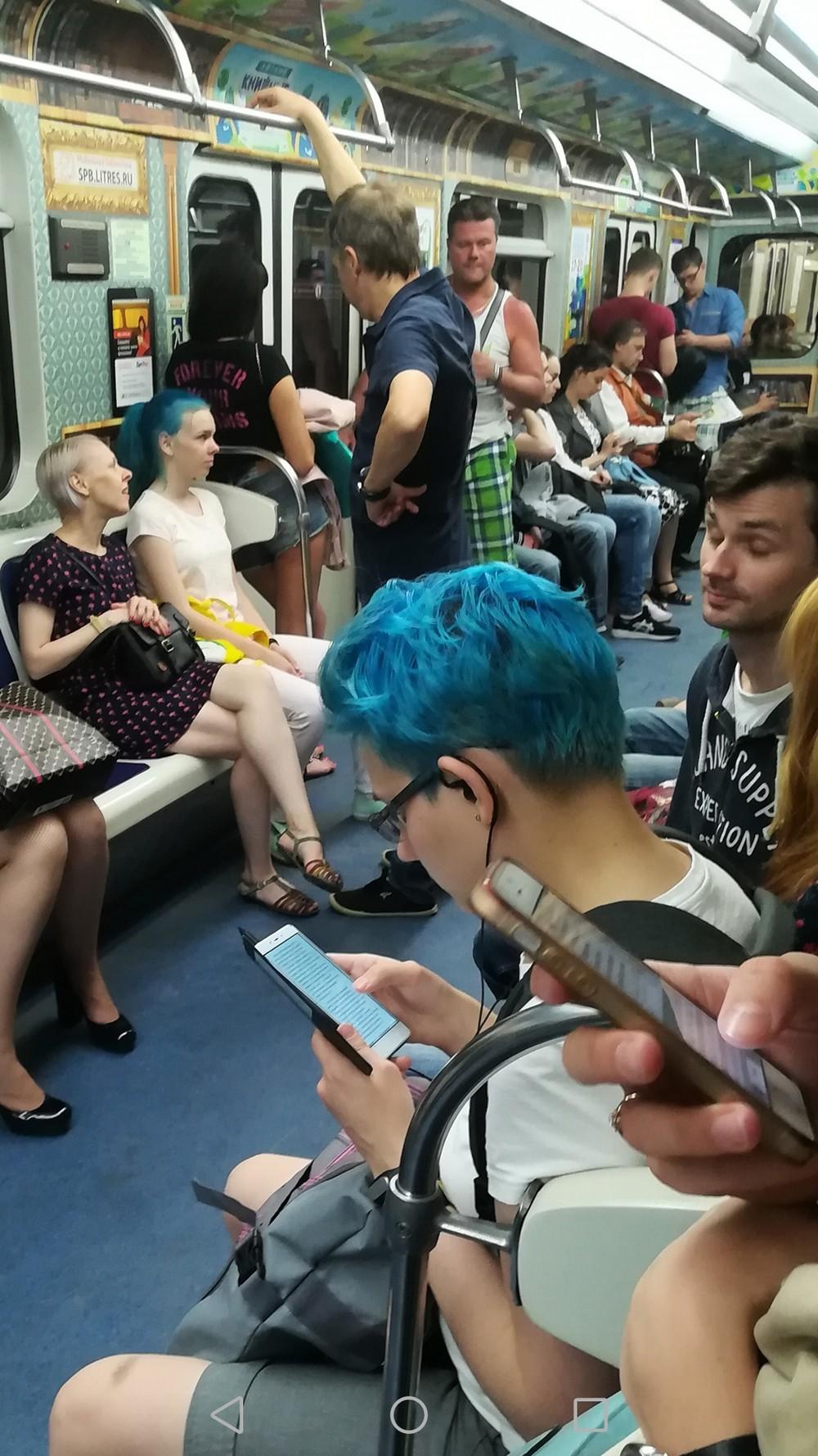 Фэшн из российского метро - 47 (36 фото)