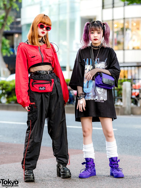 Модные и интересные персонажи с улиц Токио - 18 (50 фото)