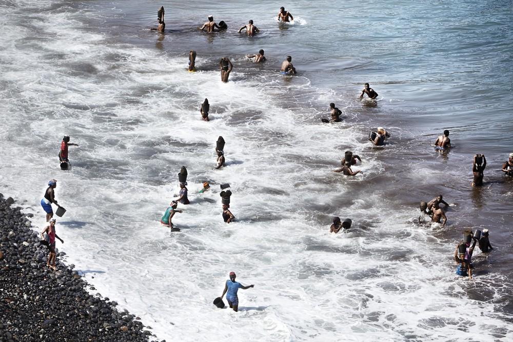 Песчаные воры в Кабо-Верде (15 фото)