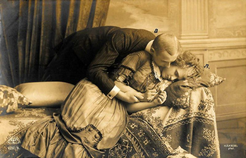 22 романтических фотографий пар 1900-х и 1910-х годов