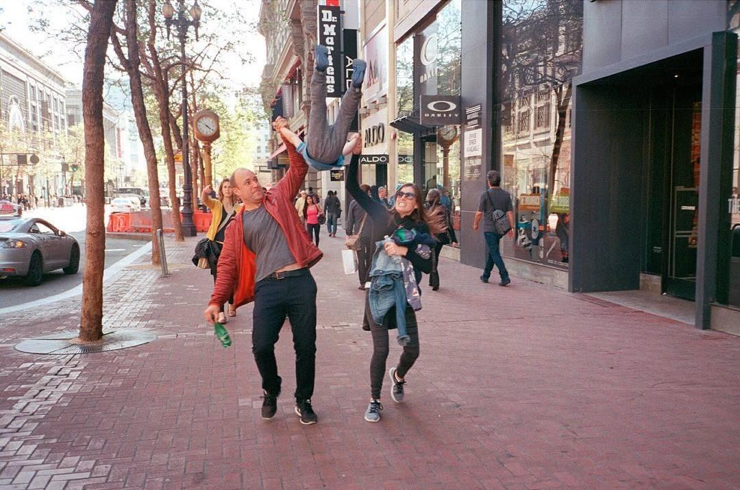 Сан-Франциско на уличных снимках Дэвида Рута (25 фото)