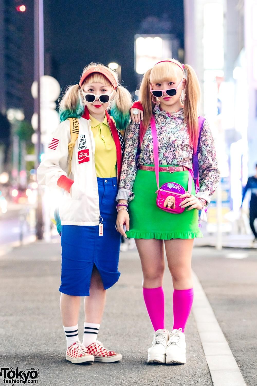 Модные и интересные персонажи с улиц Токио - 19 (50 фото)