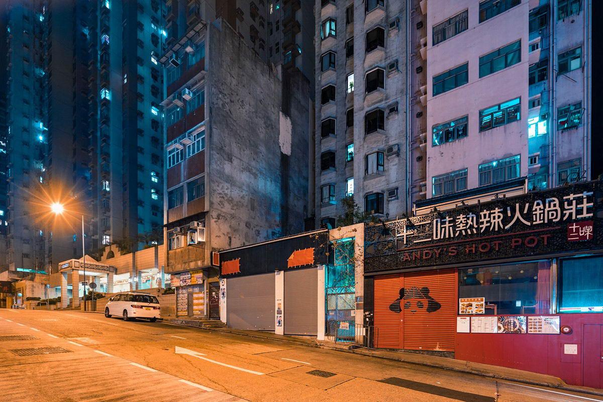 Гонконг в фотопроекте Николауса Грюнвальда (35 фото)