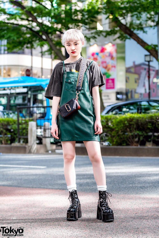 Модные и интересные персонажи с улиц Токио - 20 (48 фото)
