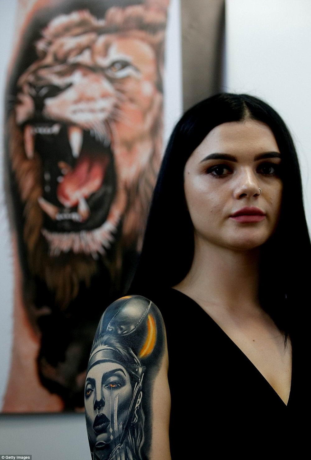 Moscow tattoo convention 2018 (20 фото)