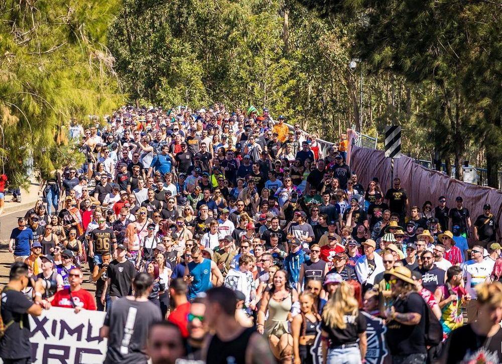 Музыкальный фестиваль Defqon.1 в Австралии (30 фото)