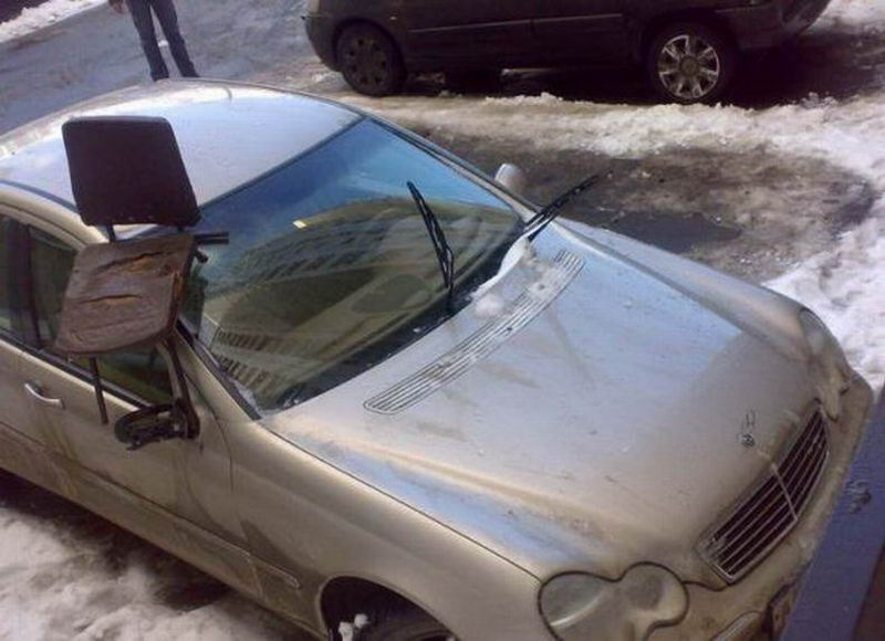 Ужасная автомобильная месть (50 фото)