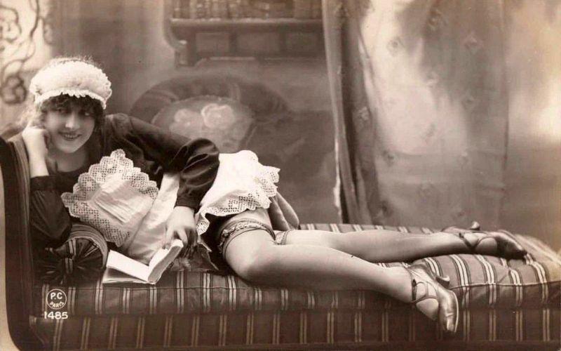 Игривые горничные 1920-х (32 фото)