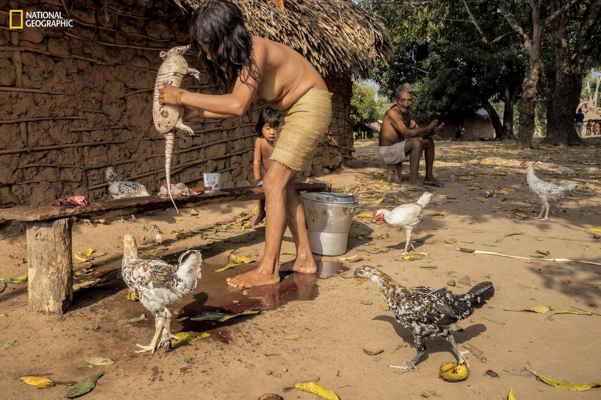 Самое исчезающее племя в мире (15 фото)