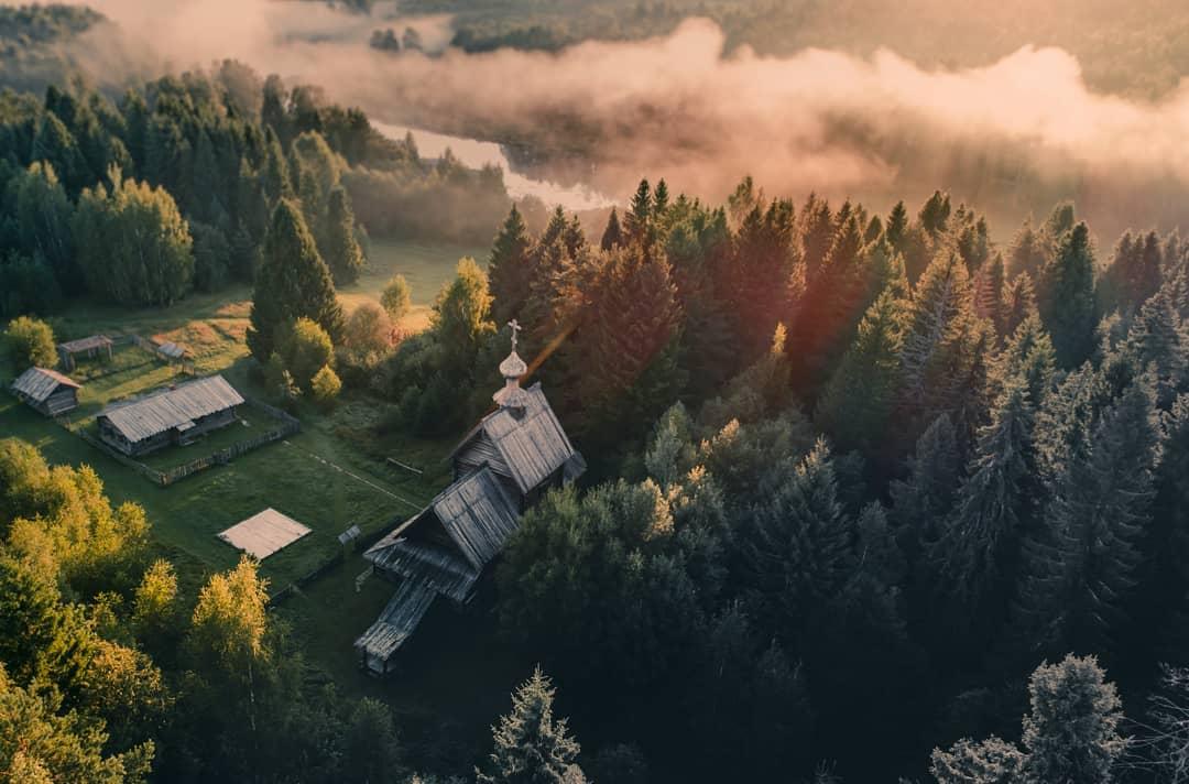 Россия сверху: аэрофотоснимки Игоря Огарева (25 фото)