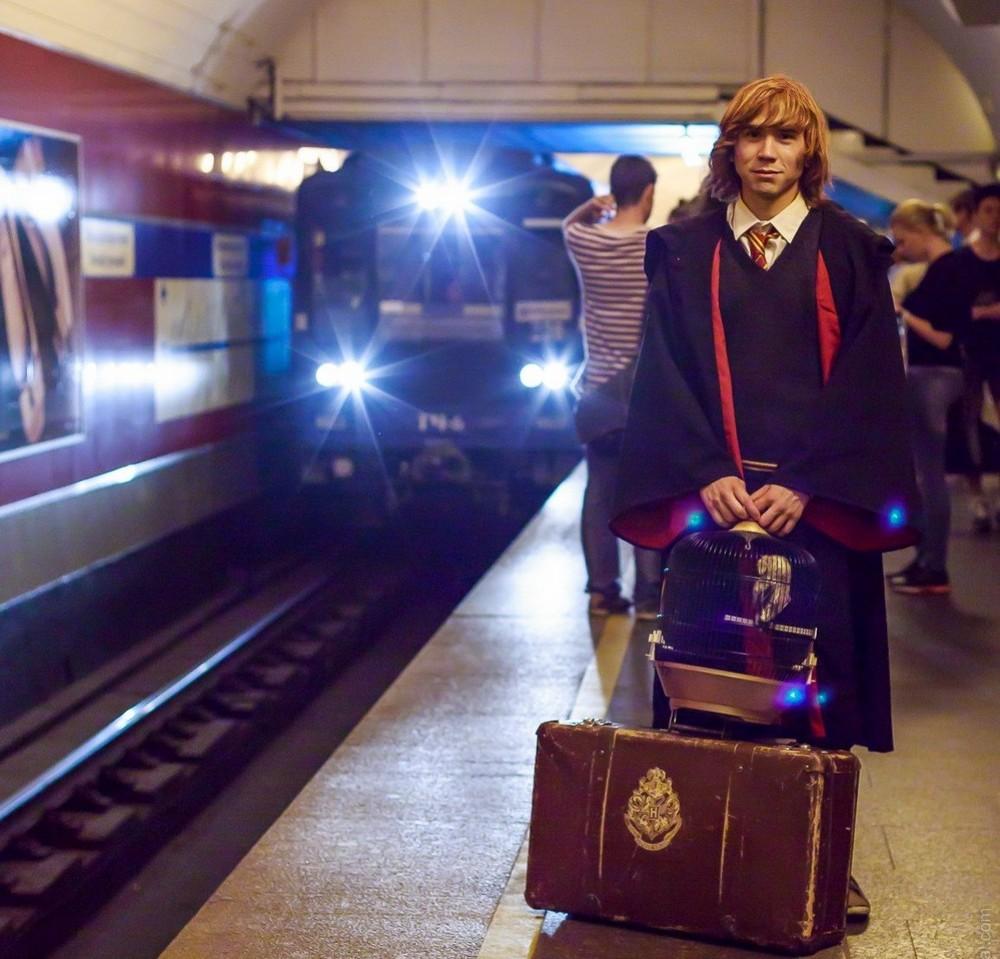 Модники и чудики из российского метрополитена - 63 (40 фото)