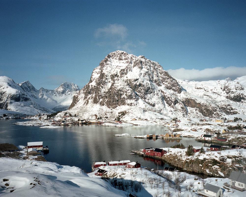 Рыбацкая деревня в Норвегии (25 фото)