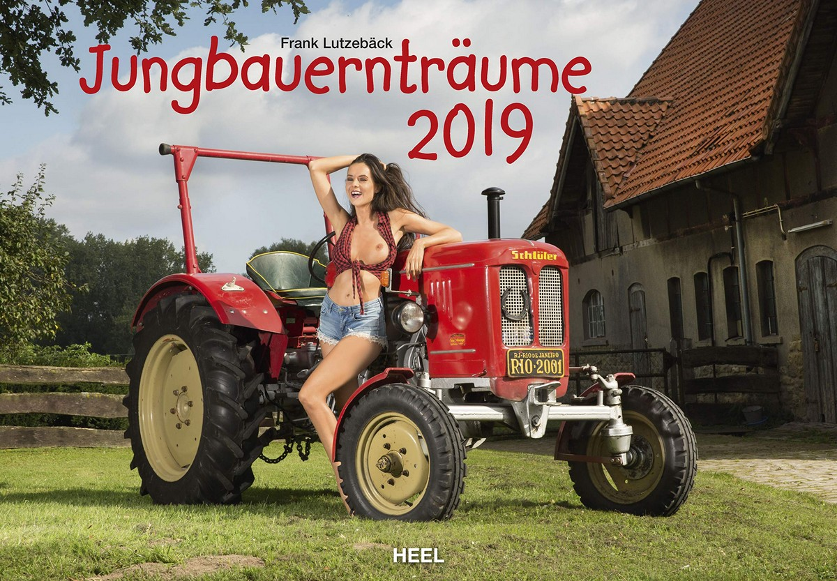 Горячий календарь с молодыми фермершами (15 фото)