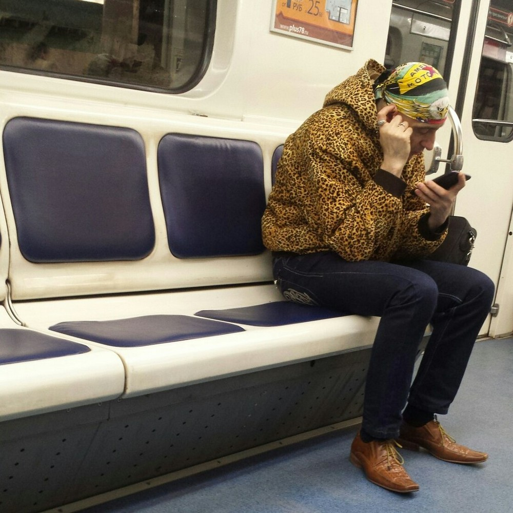 Модники и чудики из российского метрополитена - 65 (40 фото)