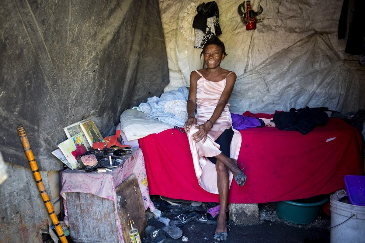 Веселый фестиваль вуду на Гаити (20 фото)