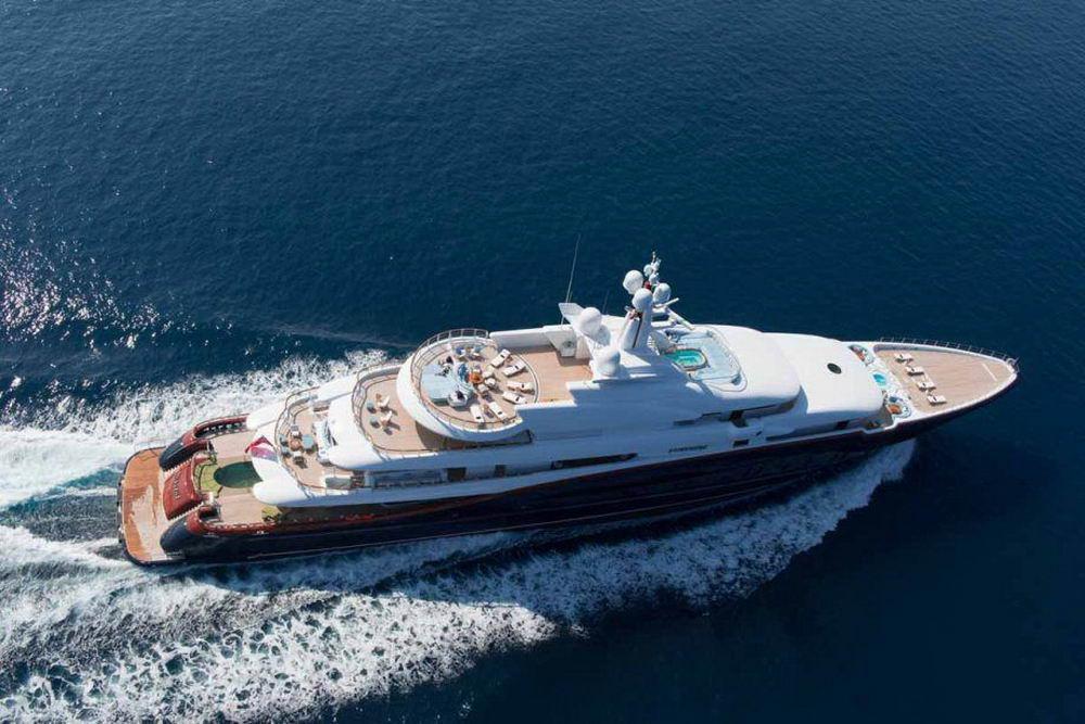 Яхта за 305 миллионов долларов (20 фото)