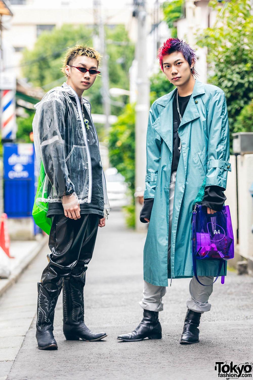 Модные и интересные персонажи с улиц Токио - 23 (45 фото)