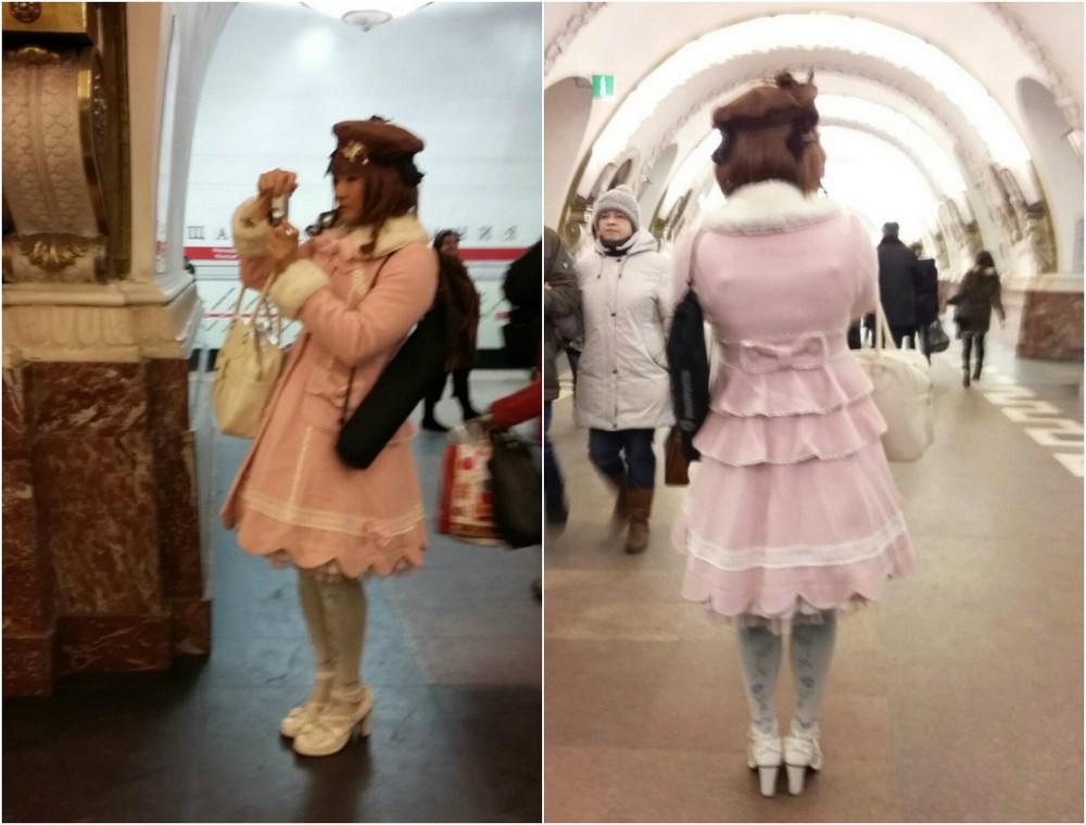 Модники и чудики из российского метрополитена - 69 (40 фото)