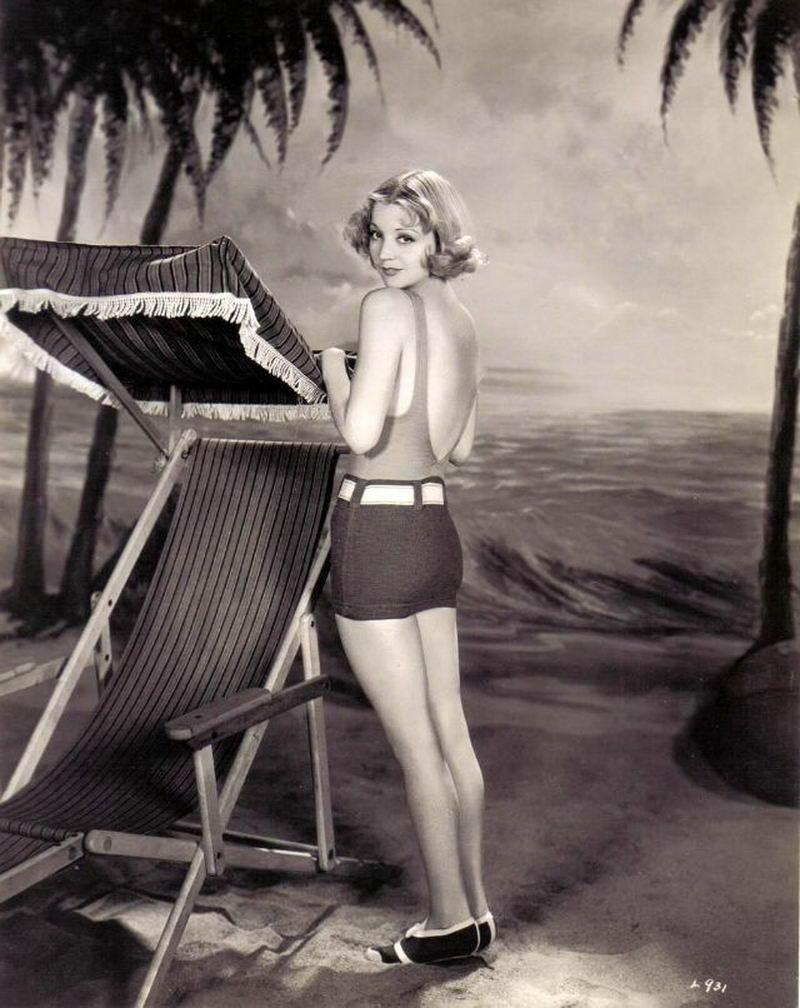 До бикини: фотографии, которые определили стили купальников 1930-х годов (50 фото)