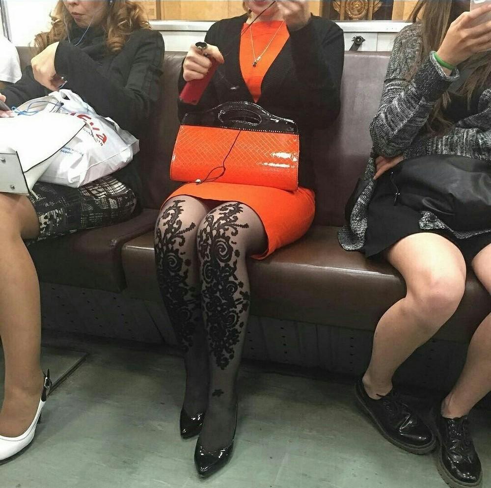 Модники и чудики из российского метрополитена - 71 (40 фото)