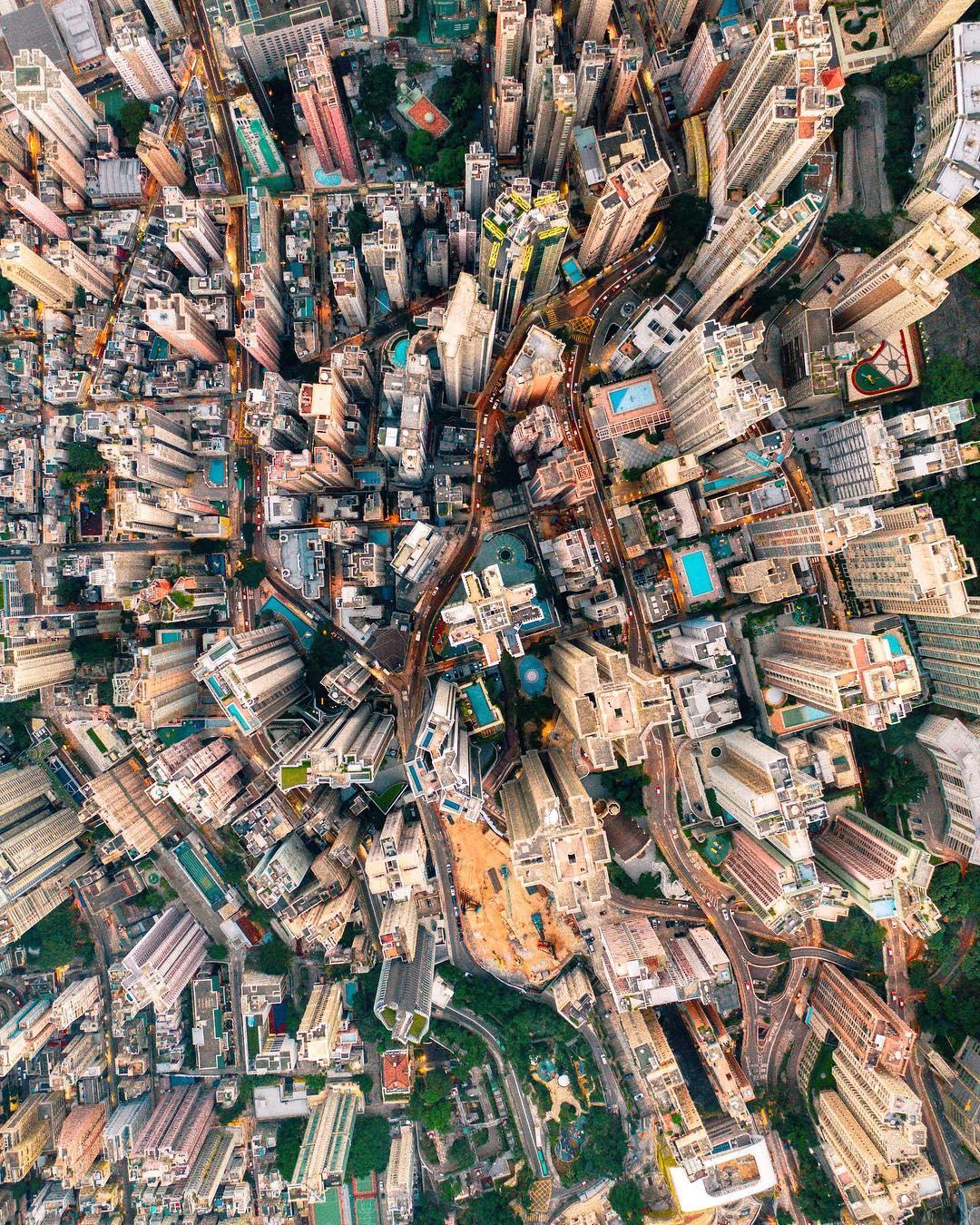 Гонконг на фотографиях Виктора Ченга (25 фото)