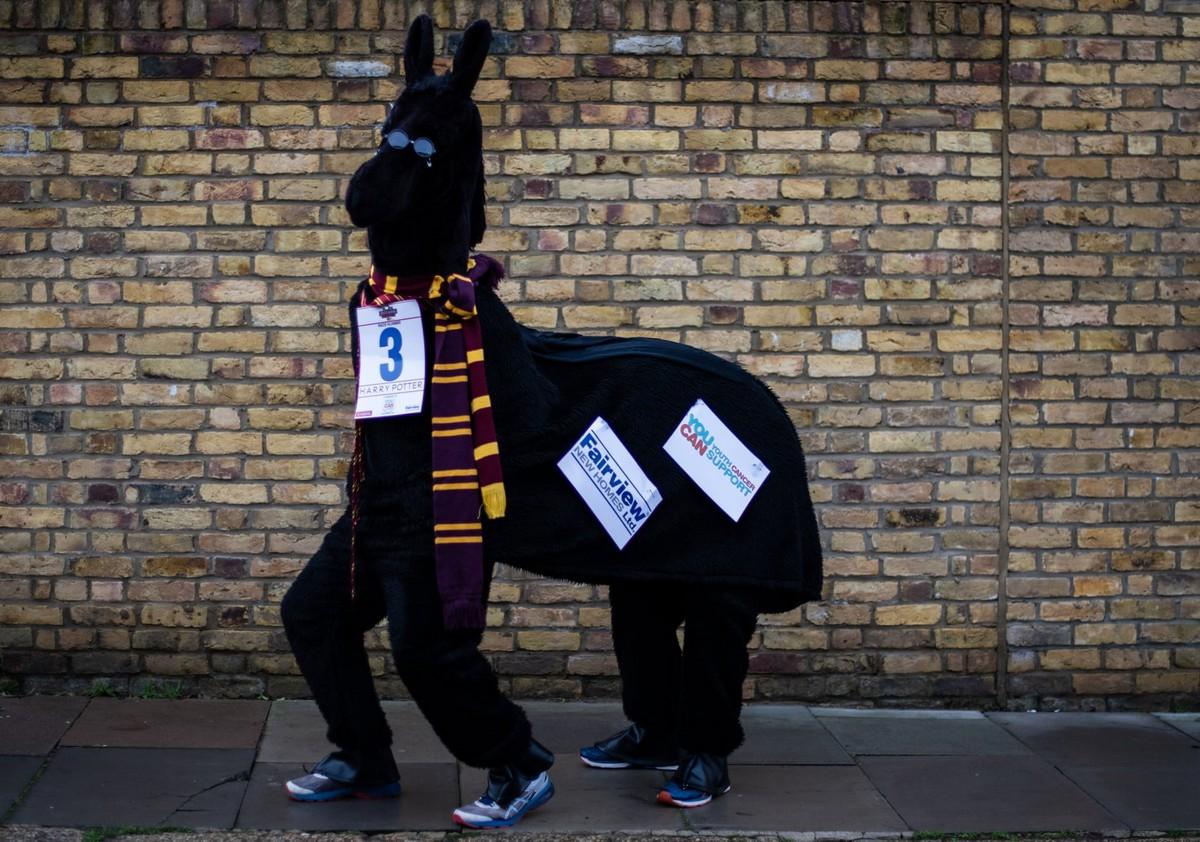 London Pantomime Horse Race 2018