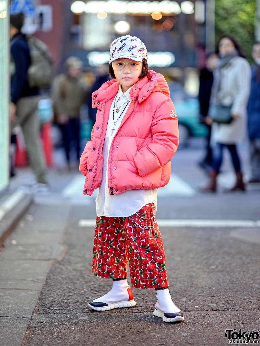 Модные и интересные персонажи с улиц Токио - 24 (40 фото)