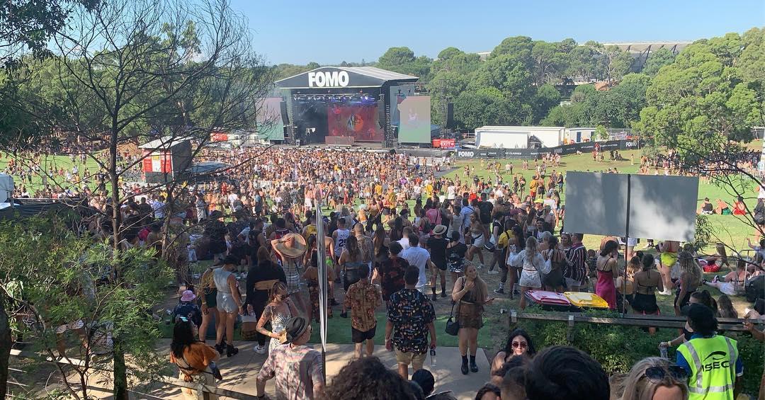 Фестиваль electronic hip-hop FOMO в Сиднее (30 фото)