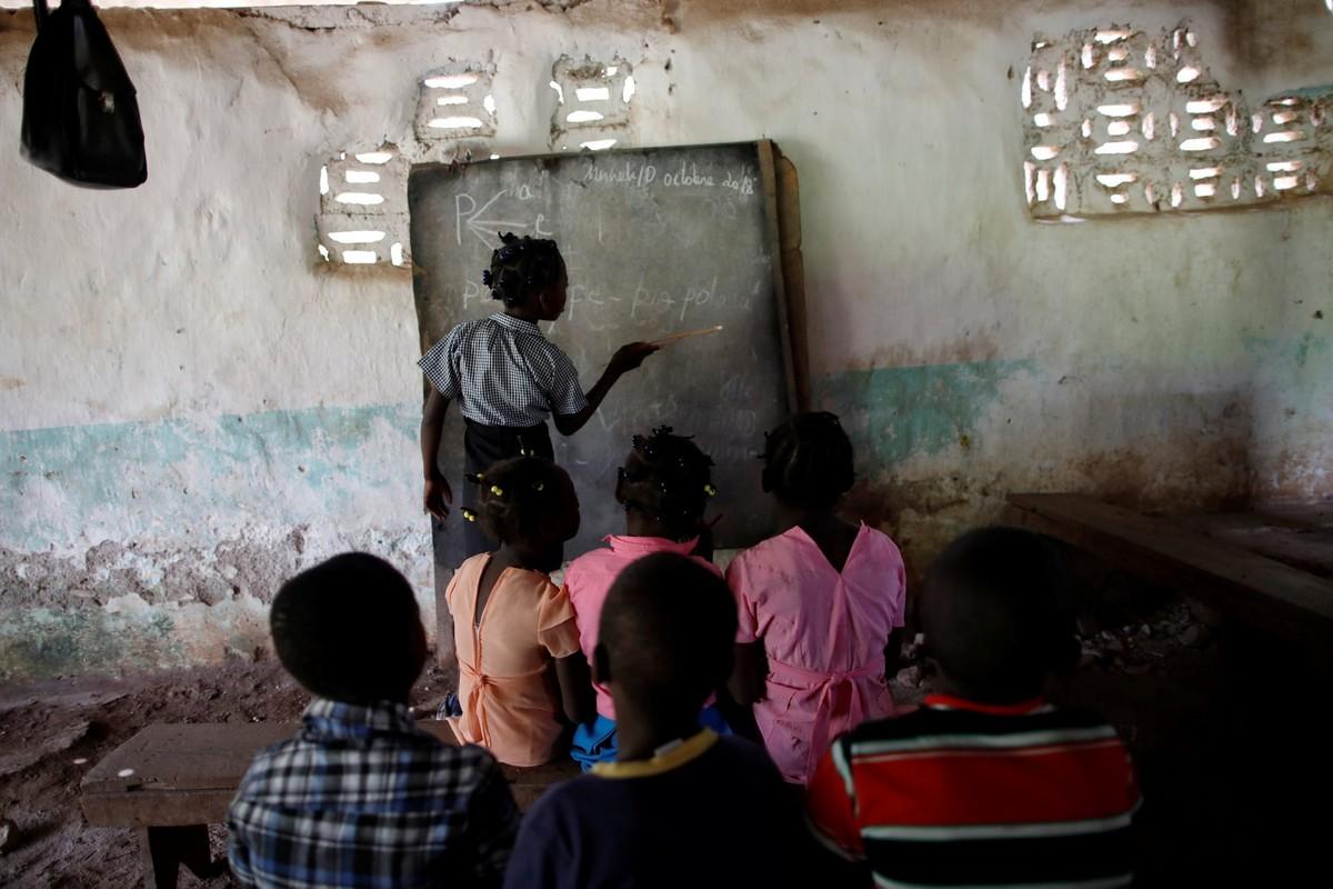 Забытая деревня на Гаити (20 фото)