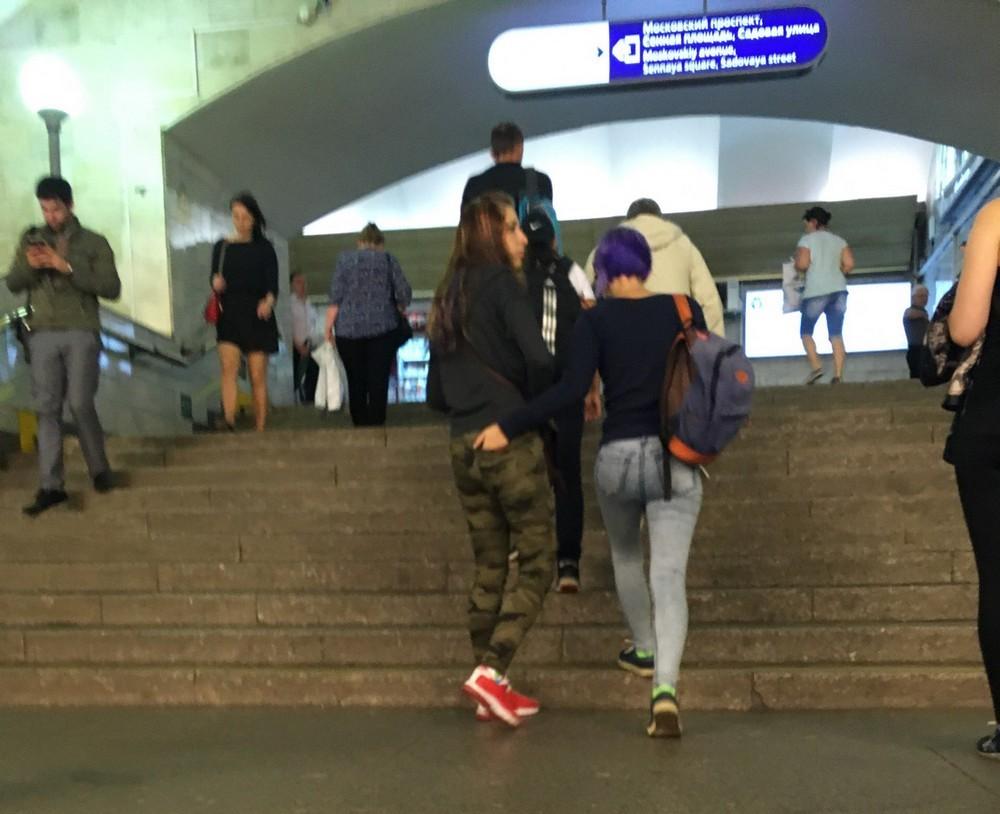 Модники и чудики из российского метрополитена - 74 (40 фото)