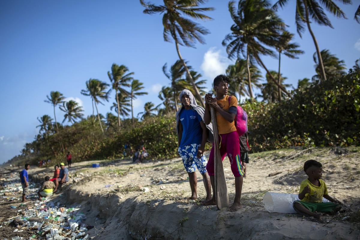 Собиратели лобстеров в Гондурасе (28 фото)