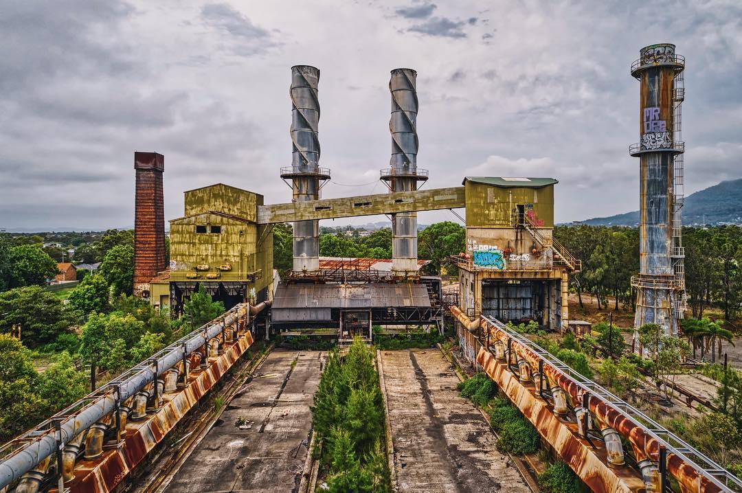 Заброшенные места Мельбурна на снимках Алессандро Сервадеи (25 фото)