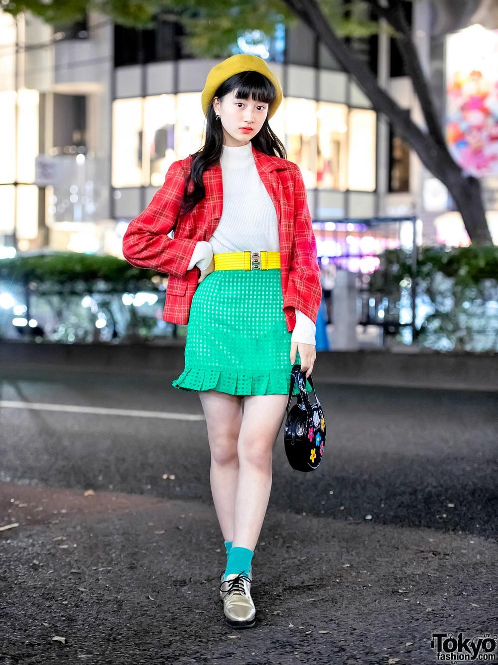 Модные и интересные персонажи с улиц Токио - 25 (40 фото)