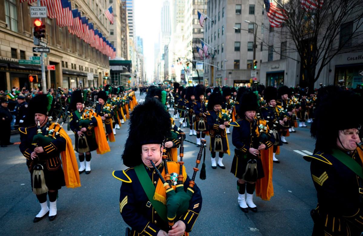 День Святого Патрика в Нью-Йорке (22 фото)