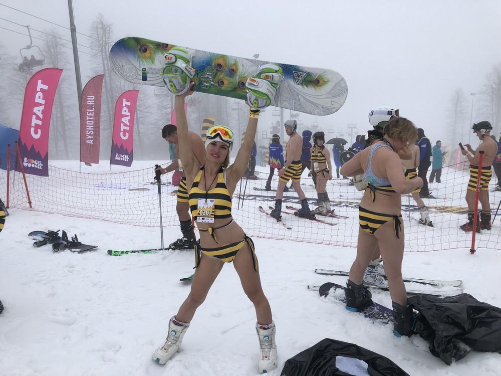 BoogelWoogel собрал в Сочи 25 тысяч лыжников и сноубордистов (35 фото)