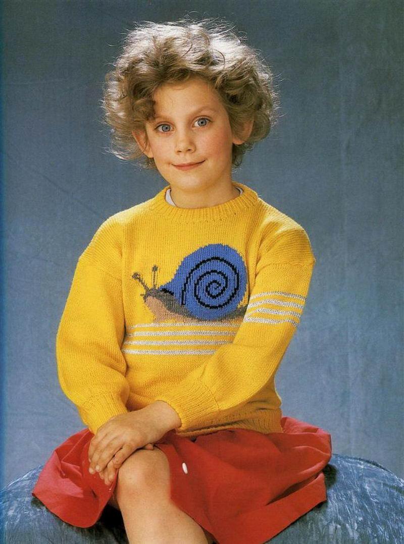 42 нелепых и дурацких фото свитеров из 80-х