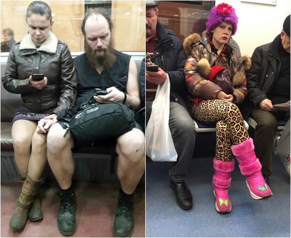 Модники и чудики из российского метрополитена - 83 (40 фото)