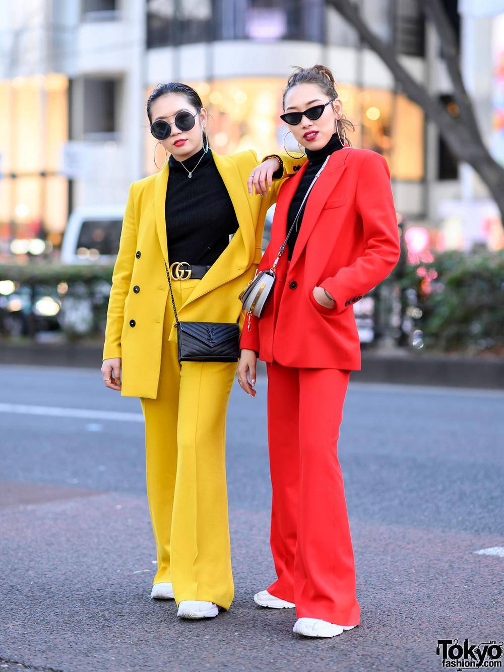 Модные и интересные персонажи с улиц Токио - 26 (40 фото)